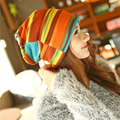 1pcsAutumn And Winter Female Hats  Beanies Knitting Hat Cap Casual Outdoor Skullies Beanies Caps For Women Gorros Para Hombres