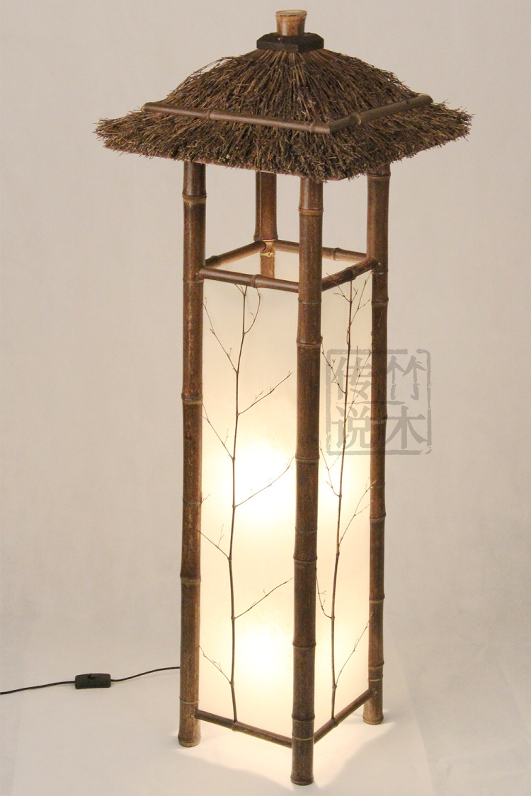 2014 New Arrival Wood New Arrival Chinese Style Floor Lamp