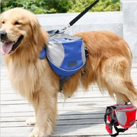 High Quality Dog Saddle Backpack Dog Bag For Outdoor Training Pet Products Pet Pack Supplies Dog