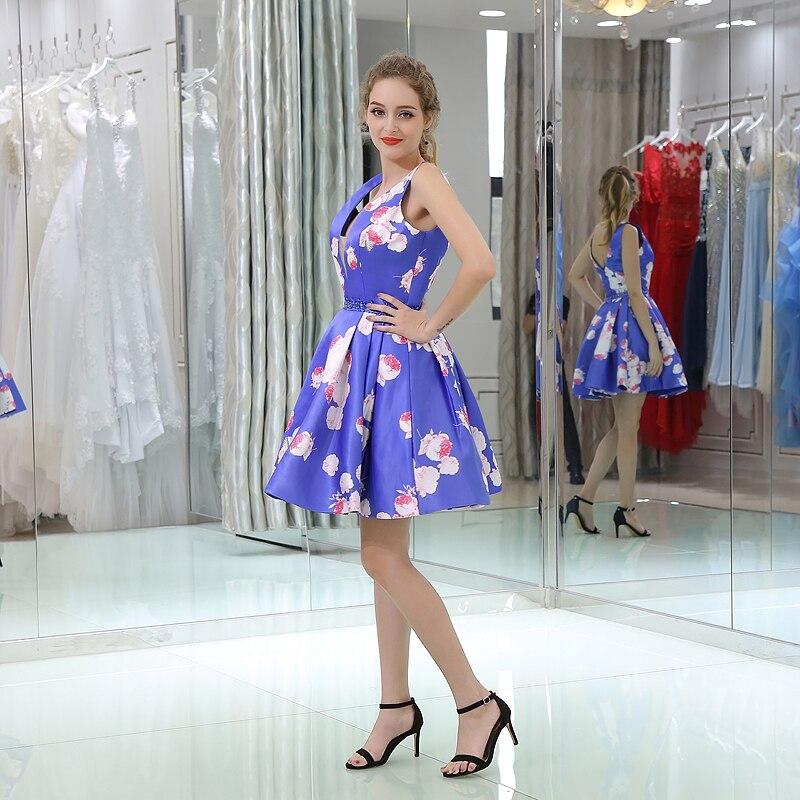 Moderno Vestido De Cóctel Profunda V Componente - Ideas para el ...