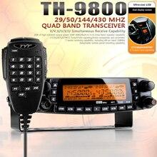 Newest Version 1601A DHL/EMS Fast Shipping TYT TH-9800 Plus Quad Band Cross Repeat Scrambler VHF UHF CB Radio Transceiver