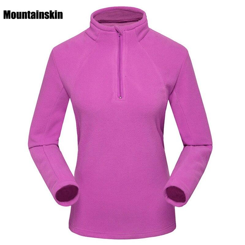 Prix pour Nouveau Femmes Hiver Polaire Softshell Vestes de Sports de Plein Air Thermique Marque Vêtements Manteaux Randonnée Camping Ski Femme Manteaux VB031