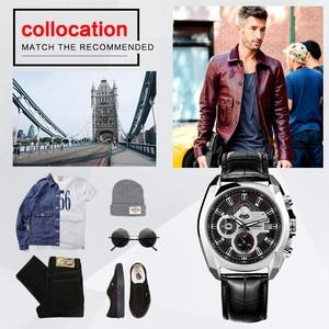 Image 5 - Reloj de lujo para Hombre, Reloj Masculino de pulsera, deportivo, militar, de cuarzo, cronógrafo luminoso