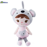 Metoo Doll Cute Stuffed Brinquedos Backpack Pendant Baby Kids Plush Toys For Girls Birthday Christmas Gift