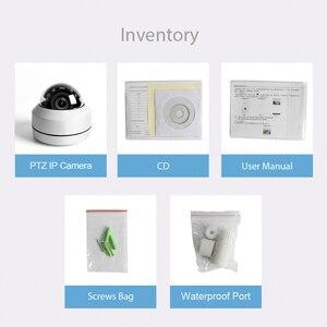 Image 5 - סופר מיני PTZ IP המצלמה HD 1080P / 5MP כיפה חיצוני עמיד למים 2MP אבטחת CCTV PTZ מצלמות 4X אופטי זום עדשת IR 20M P2P