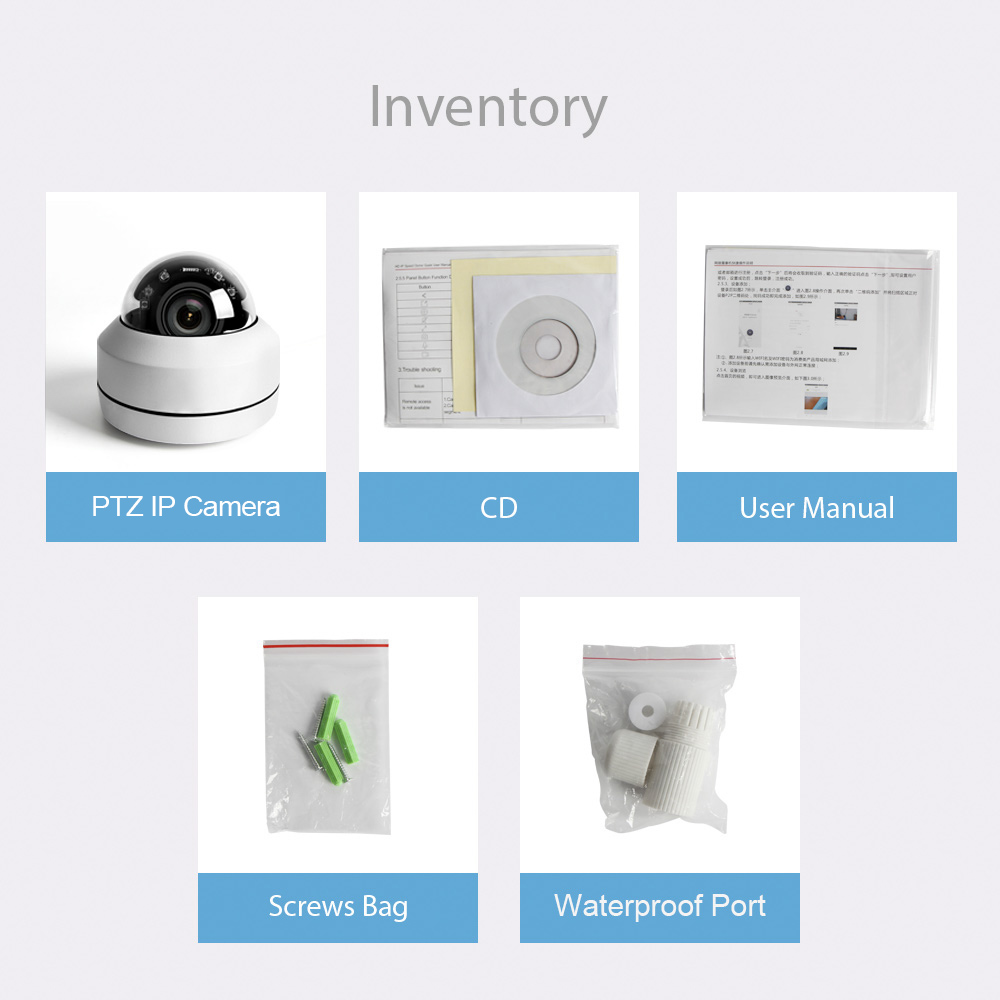 Image 5 - Super Mini PTZ IP Camera HD 1080P / 5MP Dome Outdoor Waterproof 2MP CCTV Security PTZ Cameras 4X Optical Zoom Lens IR 20M P2P-in Surveillance Cameras from Security & Protection