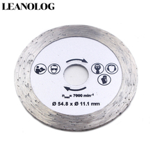 For wood metal granite marble tile brick disc for protable/DIY cutting tools electrical chain 54.8MM Diamonds circular saw hot sale mini circular saw multifunction universal saw saw for wood metal granite marble tile brick