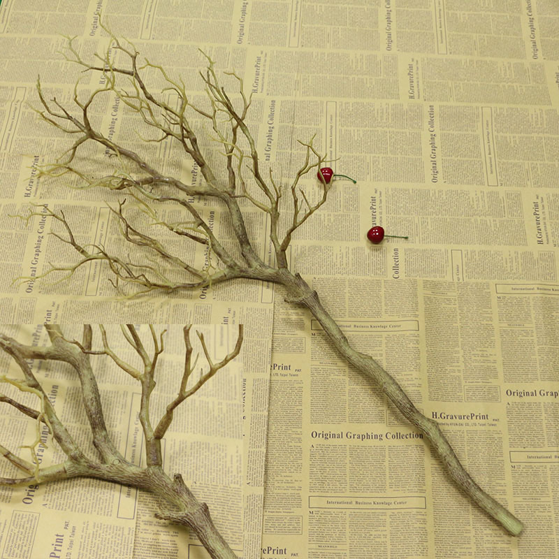 Flone Искусственные цветы Коралловая ветвь искусственный цветок имитация букет растение большая ветка дерева Свадебные вечерние украшения для дома - Цвет: A