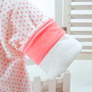 Image 5 - 新しい秋 & 冬の女の赤ちゃんセットウサギスタイル綿追加が詰め暖かい 0 2 T 新生児幼児ベビー 3 ピース/セットウォーキングドレス