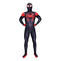 Black SpiderMan suit the amazing spider man homecoming costume Spiderman cosplay halloween costumes for men adult costumes suits