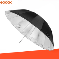 GODOX 150CM 60 Black/Silver Reflector Umbrella Photography umbrella for Studio flash Outdoor flash
