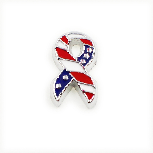 60PCS Cute Ribbon Tie Alloy Floating Charms Fit Glass Locket Charms DIY Jewelry Accessories