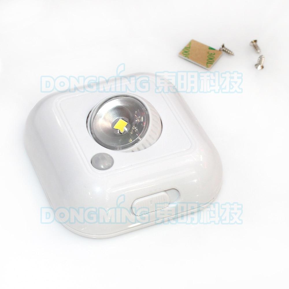 Durable Wireless LED PIR Body Auto Motion sensor closet cabinet light use battery for kitchen ceiling spotlight Night Light lamp