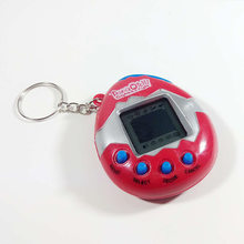 Virtual Pet Electronic Pets Toys Tamagot Elektronic Toys Virtual Cyber Pet Toy Funny Electric Toys For Kids Keychain Christmas(China)