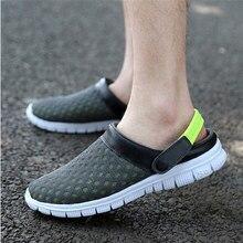 Мужчины сандалии 2016 новые поступления лето сетки дышащий сандалии мужчины сетка обувь