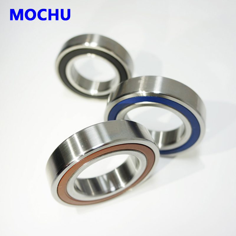 1pcs MOCHU 7203 7203C 2RZ HQ1 P4 17x40x12 Sealed Angular Contact Bearings Speed Spindle Bearings CNC ABEC-7 SI3N4 Ceramic Ball 1pcs mochu 7207 7207c b7207c t p4 ul 35x72x17 angular contact bearings speed spindle bearings cnc abec 7