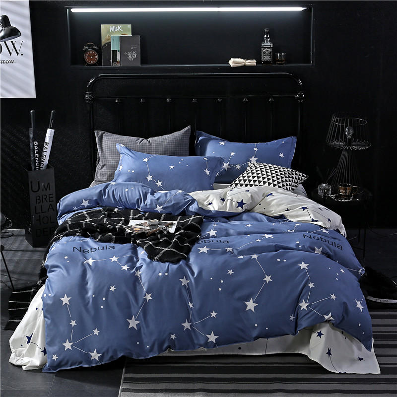 2018 Aloe Cotton Bedding Set 1 Pcs duvet cover/ quilt cover/comforter cover size 160*210/<font><b>180*200</b></font>/200*230/220*240 free shipping image