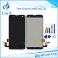 Para xiaomi 2 mi2 m2 m2s pantalla lcd con touch asamblea digitalizador repuesto con herramientas negro 1 unidades el envío libre