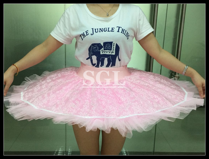 Retail adult practice pink ballet half tutu skirt with pants child if your measurements are way off our size chart we are happy to make the tutu according to your heightbustwaisthipd neednt any handing charge ccuart Choice Image