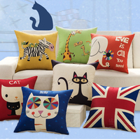 Decorative Pillow/Neck Animal Pillow with Pillow Filling and Pillows Cover Floweral Style pillow for Decoration