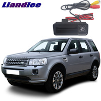 LiandLee Car Trunk Handle Rear View Reversing Parking Camera For Land Rover Freelander 2 LR2 L359 2006~2014