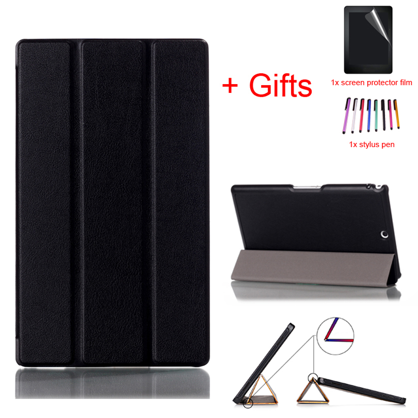 Smart Cover Case For Sony Xperia Z3 8.0inch PU Leather Case For Sony Xperia Z3 8.0