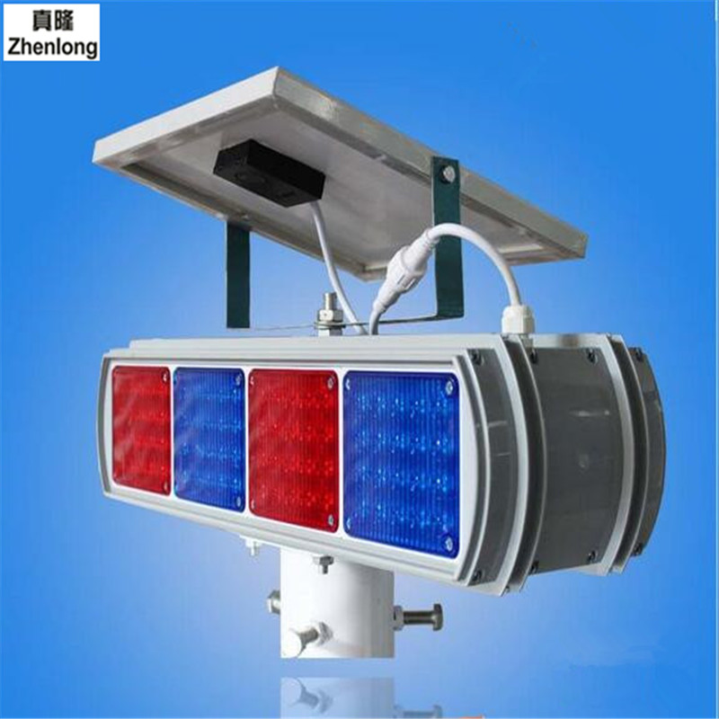 Solar Traffic Warning Lights Led Flashing Lights Road Warning LightsYellow Flashing Lamp