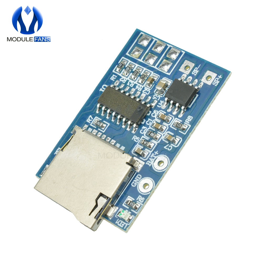 Capable Gpd2846a Board 2w Amplifier Tf Card Mp3 Player Decoder Module For Arduino Gm Power Supply Module 5v Audio Mode To Invigorate Health Effectively Active Components Integrated Circuits