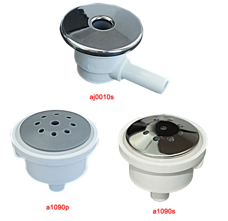 1 inch hot tub air jet, water jet, water plastic and stainless steel ...