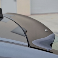 For Honda Accord Spoiler 2009 2014 For acura TSX Agreement Lip ABS Material Roof Wing Rear Spoiler