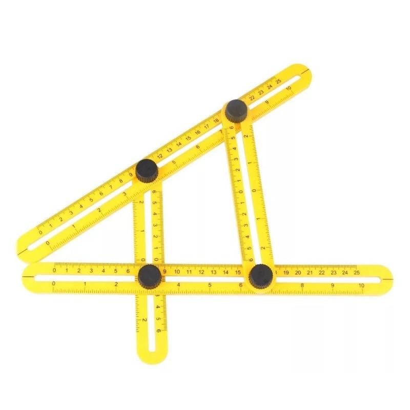 Angle Ruler Adjustable font b Measuring b font font b Instrument b font Multifunctional Magic Ruler