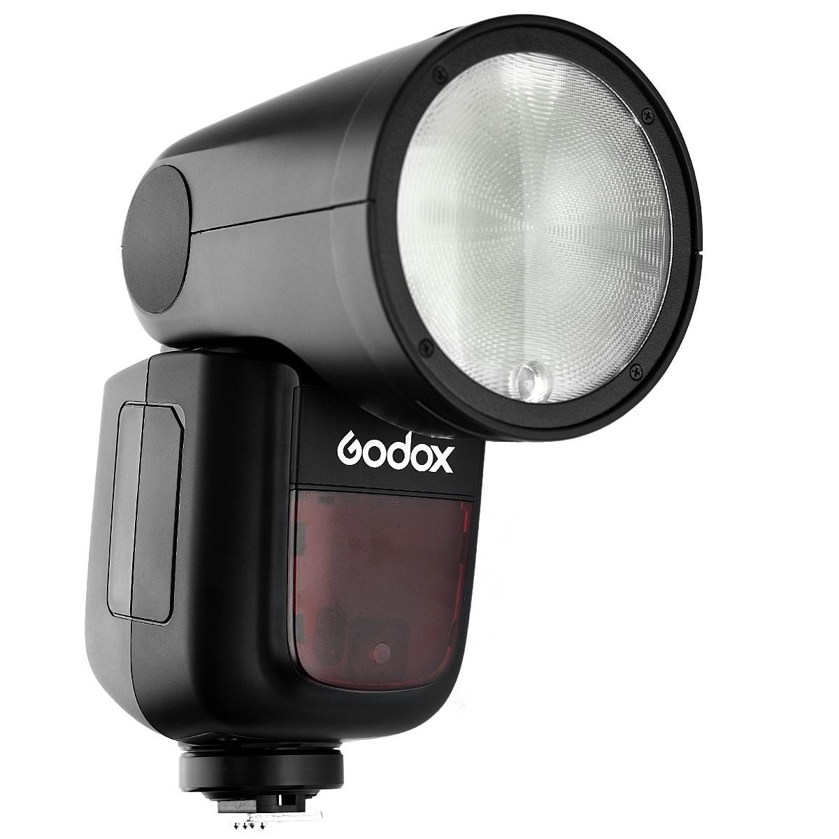 Godox V1 V1-C V1C li-on TTL caméra Flash rond Flash pour Canon EOS 700D 750D 800D 5D3 MARK II 5D2 5D4 600D 1300D 400D 650D