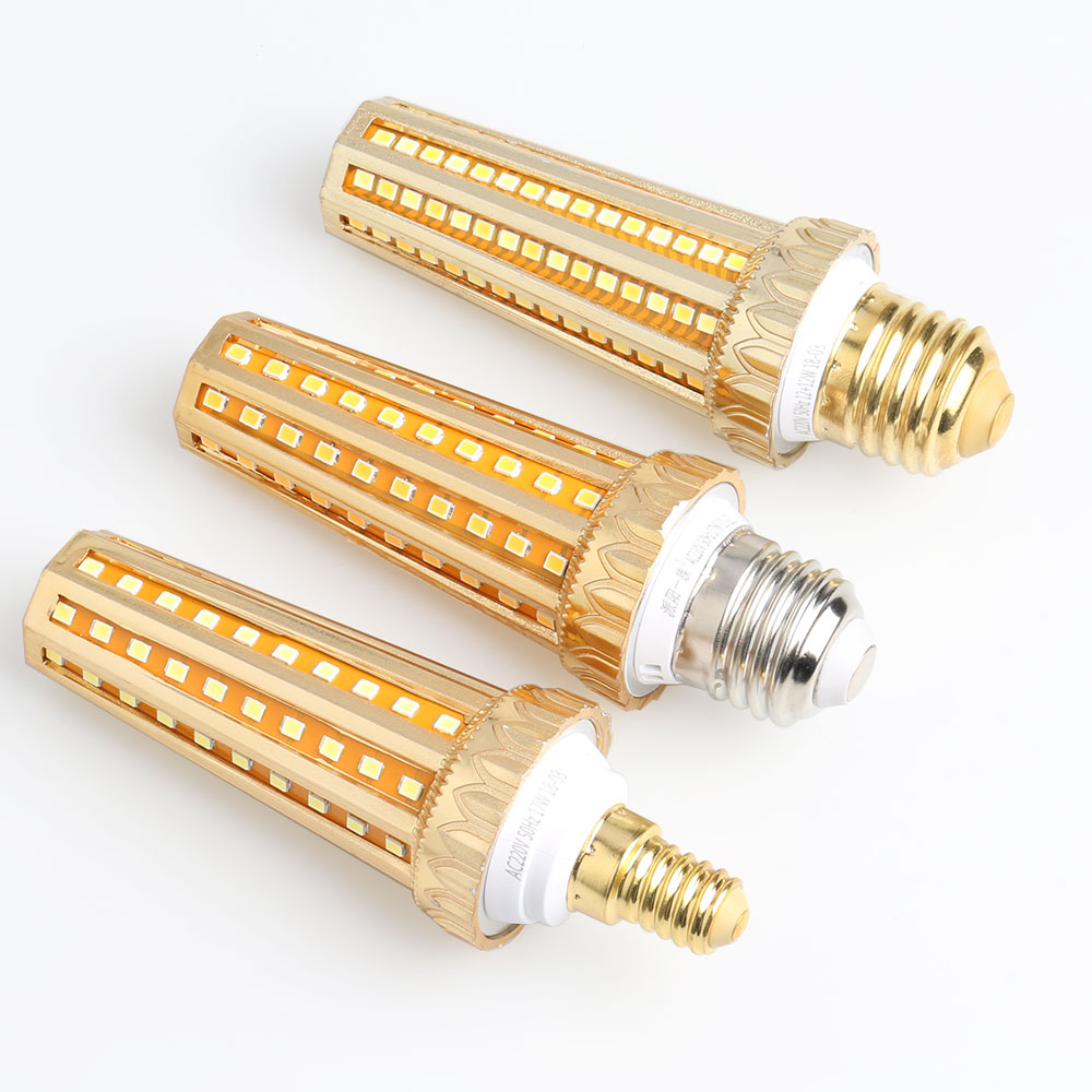 68 128 leds LED Lamp E27 E14 Led Corn Bulb AC85-265V High brightness light 360 degrees Replace Halogen Lamp2