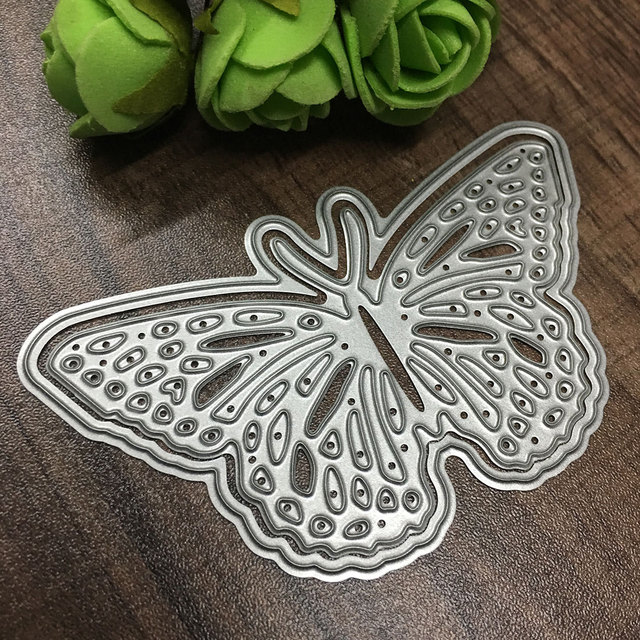 High Quality Metal Butterfly Cutting Dies Stencils for DIY Scrapbooking/photo album Decorative Embossing DIY Paper Cards