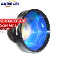 F Theta 1064 Nm Scan Len Size 110 110mm Focus Distance 160mm Use For Fiber Yag