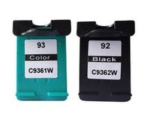 1set High Quality Black&Color For HP 92 93 Ink Cartridge Deskjet 5440 5442 5443 D4160 Photosmart C3140 C3150 C3180 C3190