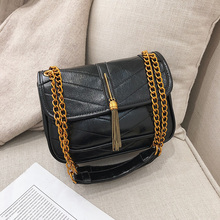 2019 Spring Women Bag Designer Tassel Handbags Chain Shoulder Bag Crossbody Bags Ladies Messenger Bags  New High Quality LC09