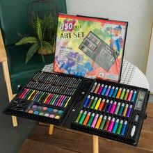 150 цветов, акварельная ручка, цветной карандаш, набор для покраски, детский подарок, школьные принадлежности