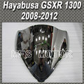 Motorcycle Part For Suzuki Hayabusa GSXR 1300 2008 2012 09 10 Double Bubble Windshield/Windscreen - Silver