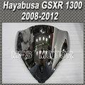 Pieza de la motocicleta Para Suzuki Hayabusa GSXR 1300 2008 2012 09 10 Double Bubble Parabrisas/Parabrisas-Plata