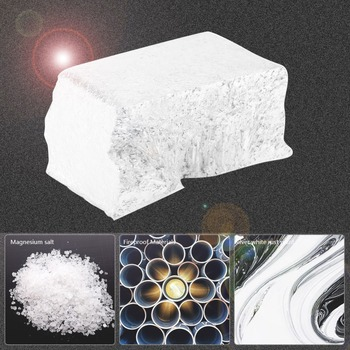 1kg 99.99 Purity Magnesium Block Metal Rod Mg Metals for Factory Production