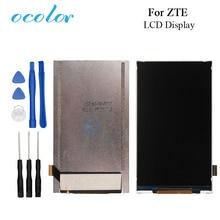 Ocolor ZTE Blade AF3 T221 A5 lcd ekran ekran onarım parçaları ZTE cep telefonu için dijital aksesuar + araçları