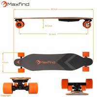 Longboard Electric Skate Board Single Motor Hoverboard 4 Wheels Skateboard With Remote 600W Hub Motor Kit