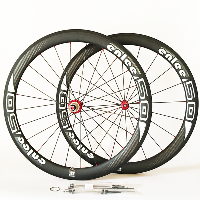 700C 50MM Racing Bicycle Carbon Wheels Front 2 Bearing+Rear 5 Bearing Hub Bike Wheels Carbon Road Wheelset Bicycle Racing Wheels racing wheels h 480 7 0 r16 4x114 3 et40 0 d67 1