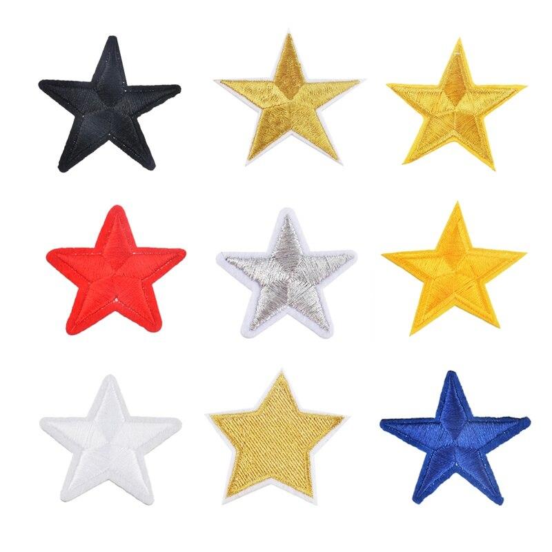 Urijk 10 шт. передачи гладить на патчи для рукоделия звезда вышитой аппликацией для мужских пиджака DIY накладные полосы для одежды значки наклейки-in Заплатки from Дом и сад on Aliexpress.com | Alibaba Group