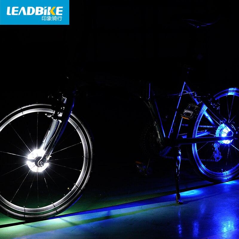 Leadbike Novi bicikl Biciklizam Hubs Svjetlo Bike Prednje / stražnje - Biciklizam - Foto 5