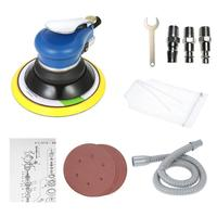 6 Inch Car Polishing Machine Dual Action Pneumatic Sander Auto Paint Care Tool Electric Woodworking Grinder Polisher