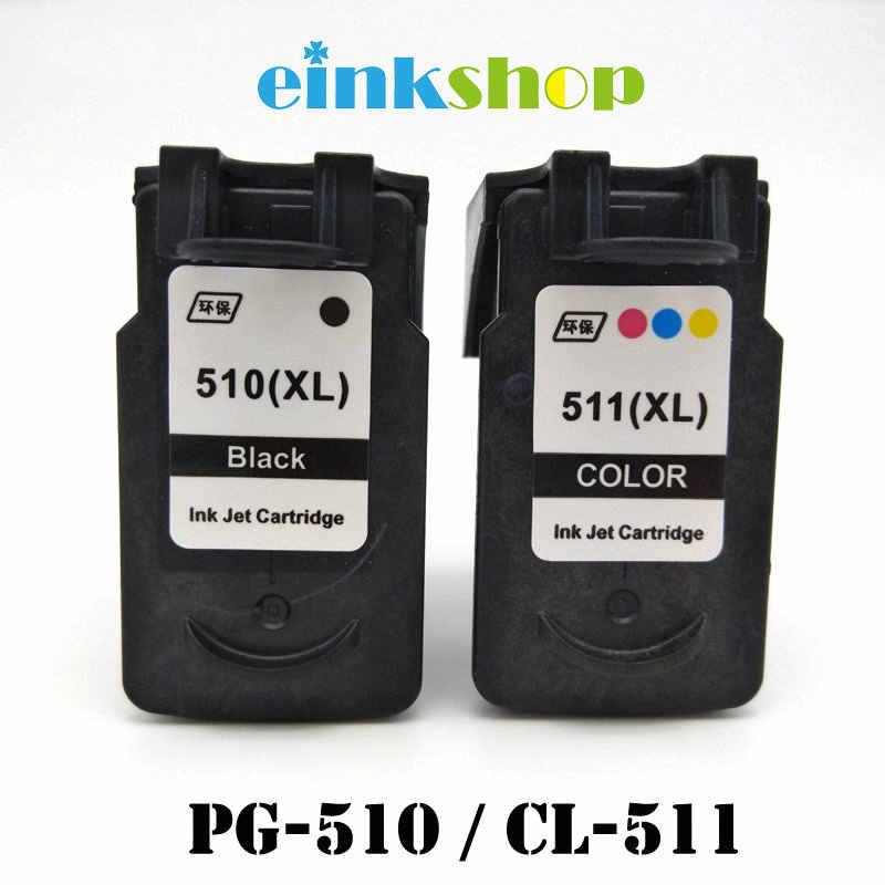 Einkshop PG 510 CL 511 خرطوشة حبر لكانون pg510 pg 510 cl510 Pixma iP2700 MP250 MP270 MP280 MP480 MX320 MX330 طابعة