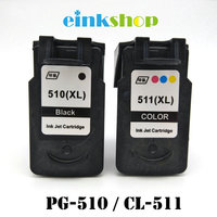 PG 510 CL 511 Ink Cartridge For Canon pg510 pg 510 cl510 Pixma iP2700 MP250 MP270 MP280 MP480 MX320 MX330 MX340 MX350 Printer