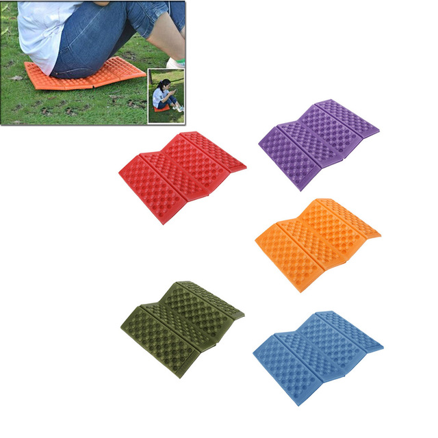 Portable Folding Foam Pad Camping Mat Seat Moisture Proof Xpe Cushion Foldable Outdoor Waterproof Chair